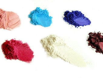 The Warhol Collection - 6 piece mineral eyeshadow set