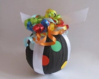 Favor Size Surprise Ball- Polka Dots