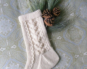 Irish style Christmas stocking