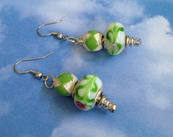 Itaiian Glass Earrings