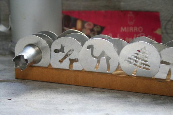 1940's/ 50's Mirro Cookie Pastry Press: Copper & Aluminum