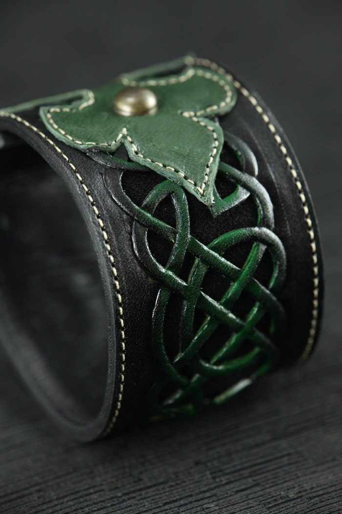 Leather Cuff Leather Bracelet Leather Band By