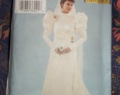 Butterick 3716  Historical Wedding dress pattern