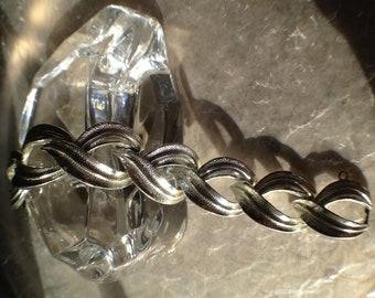 Vintage Lisner Bracelet Costume Jewelry Chunky Mad Men Mid-Century