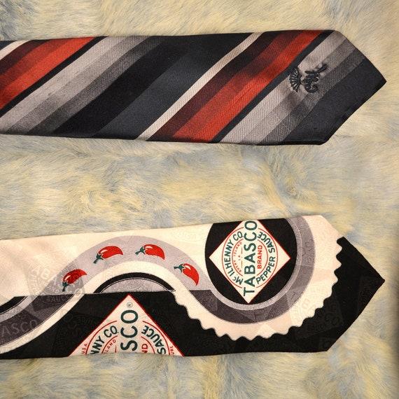 Tabasco and Vintage Necktie