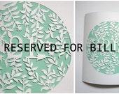 Custom Listing for Bill Hong