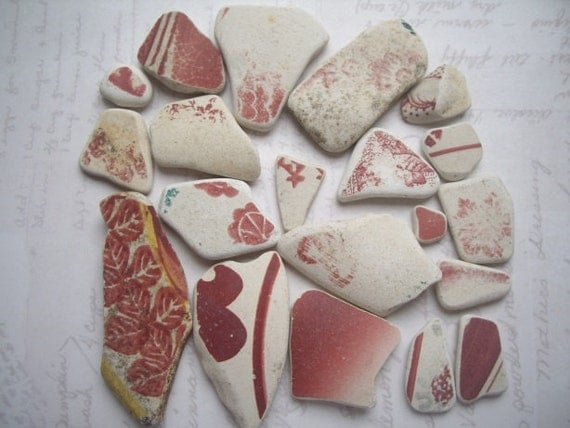 Burnt Red North Sea Pottery Collection  SP879