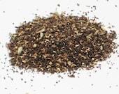 Organic Chai Tea 2 oz - Fair Trade loose tea black tea rich in antioxidants - serve hot / cold - make your own chai latte