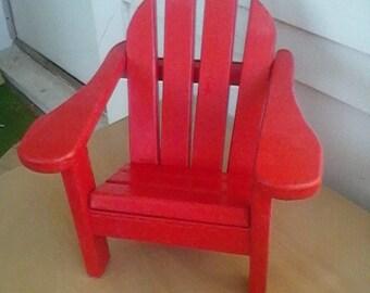 adirondack  chair for american girl doll