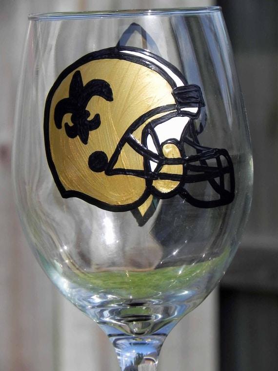 Saints Helment Wine Glass