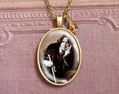 Oscar Wilde  - Vintage Necklace