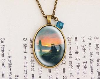 Sunset - Vintage Necklace