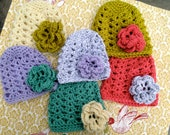 Baby/Toddler/Child Crocheted Beanie Hat - The Melody