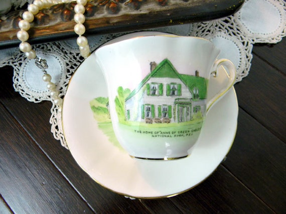 Teacup Tea Cup and Saucer  -  Kent  Anne OF Green Gables 8143