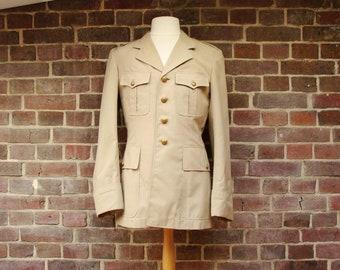 1970 Military Beige Jacket