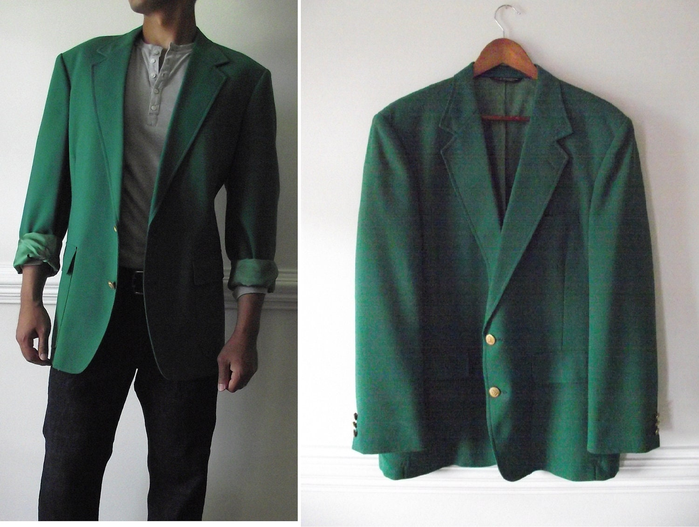 Similiar Men's Suit Jacket Green Keywords