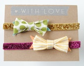 Bitty Bow Headbands