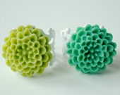 SALE ITEM: Pom pom ring duo