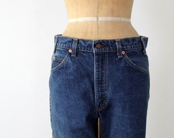 vintage Levis 517 denim jeans, waist 34
