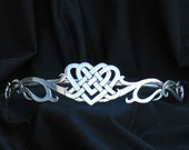 Celtic Heart Tiara / Circlet for Costume, Bridal, Weddings and more