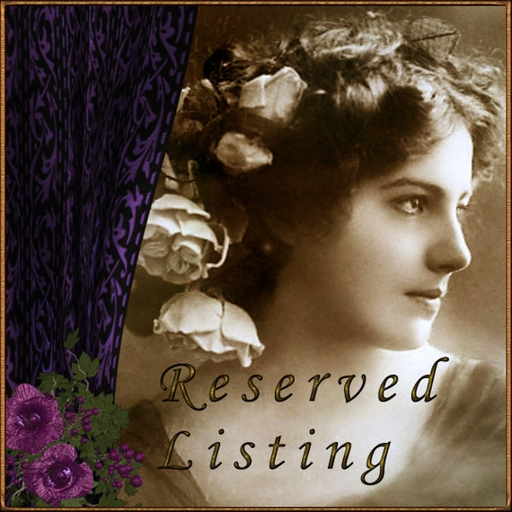 RESERVED LISTING FOR   Kathy