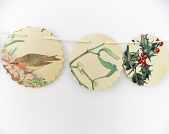 Bunting christmas bunting eco friendly banner christmas decoration