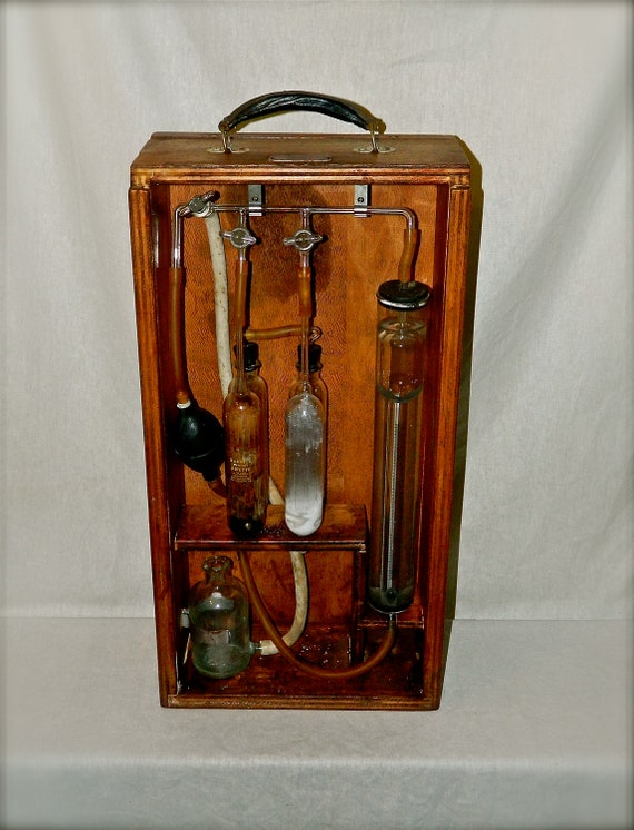 Old Ge Test Instruments : Vintage scientific medical testing equipment apothecary