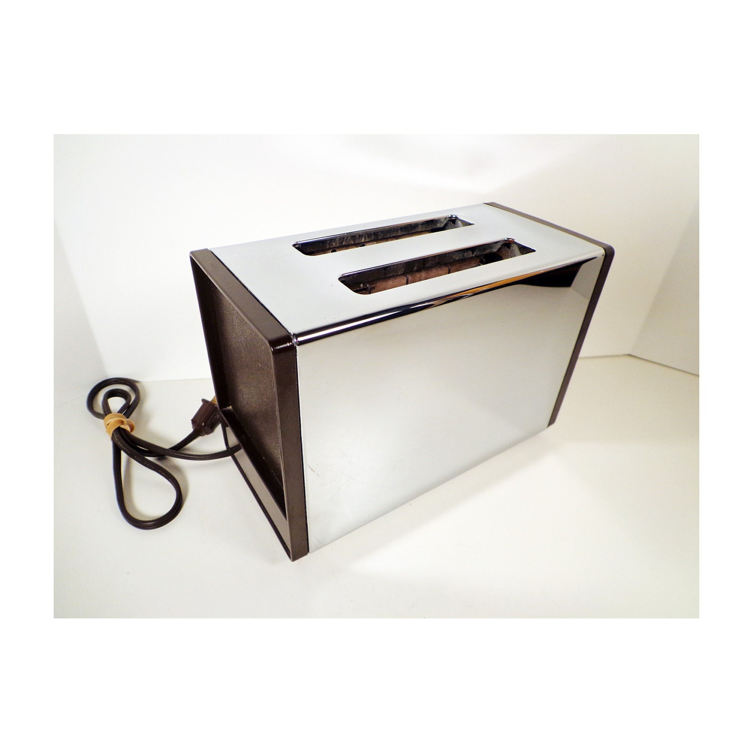 vintage toaster mid century modern general electric model. Black Bedroom Furniture Sets. Home Design Ideas