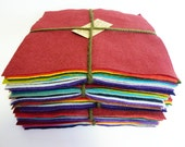 Large Felt Squares earthy tones 17 perfect felt for all your crafting needs