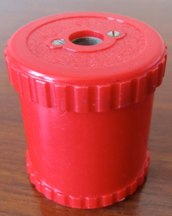 Vintage Red Dux 3207-N Pencil Sharpener Pointer Germany