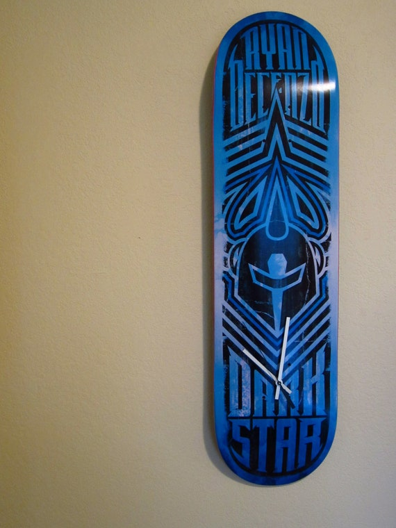 Dark Star Revert R7 Pro Deck Blue White Black Skateboard Deck