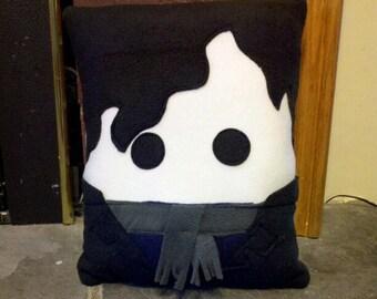 Sherlock Holmes pillow, Watson, plush, pillow,  Benedict Cumberbatch, decorative pillow, Home decor, geek, throw pillow