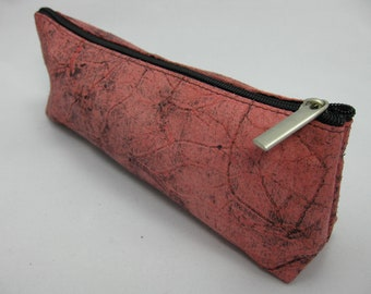 Genuine leather case suitable for sorting cosmetic, pen, pencil, jewelry, ring, necklace, small stuff