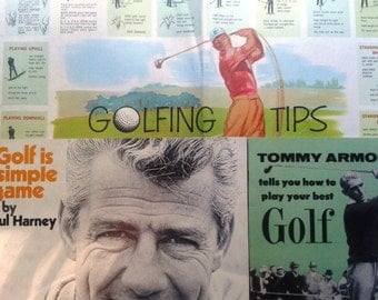 Vintage Golfing Ephemera