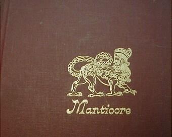 Manticore Book Heraldry Coat of Arms Sanson Institute