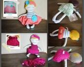 custom doll. flapper baby. you send an item.