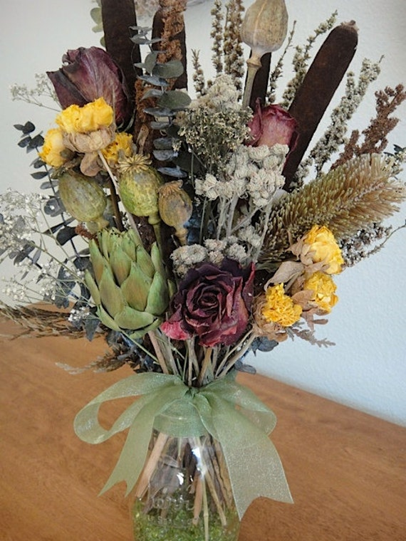 Beautiful Dried Floral Arrangement