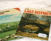 Lovely Pair of Travel Souvenir Booklets..The Cotswolds in Colour and The Lake District..