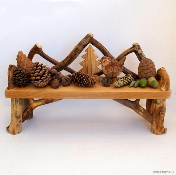 Bent Twig Nature Display Shelf