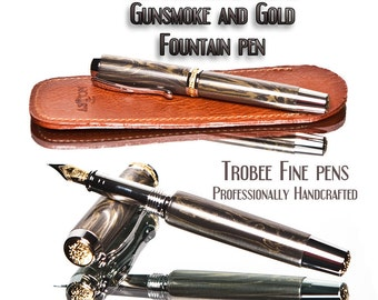 M3 fountain pen with case gifts for men