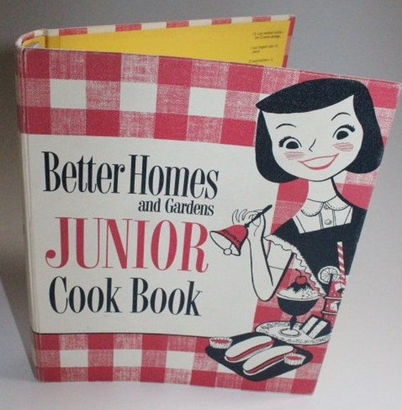 Junior Cook Book 1955 Better Homes And Gardens First