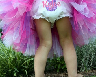 Custom Girl's Birthday Bloomers