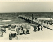 "Vintage Photo ""Vacation at the Beach"", Photography, Paper Ephemera, Snapshot, Old Photo, Collectibles - 0003"