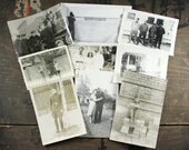 "20 Vintage Photos ""Military"", Photography, Paper Ephemera, Snapshot, Old Photo, Collectibles - 246"