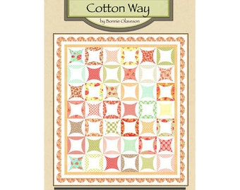 Orange Marmalade Quilt Pattern By Cotton Way