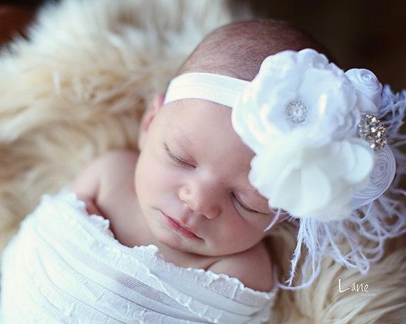 Infant Headband Newborn Headbands Baby Girl Flower Headband