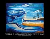 Collectible 2013 TIffany Beasi Art Calendar. VIBRANT FLORIDA