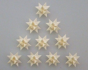 Moravian Stars (10): Champagne, 2 inches
