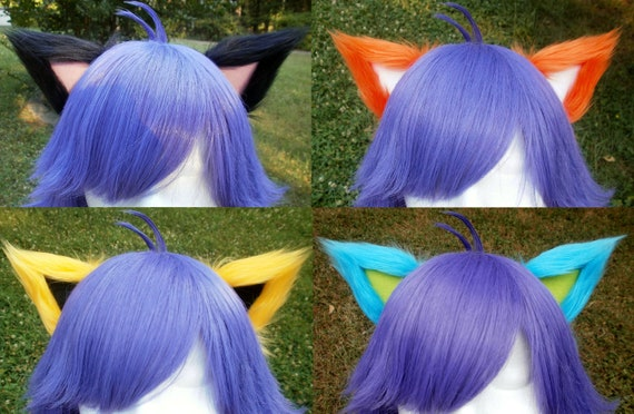 Made to Order Custom Clip on Cat Ears