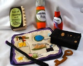 Felt Toy Magical Wizard Enchanting Spell Set